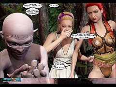 3D Comic: World of NeverQuest Chronicles 19-21
