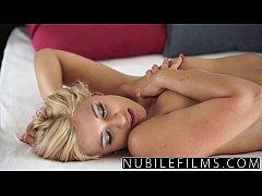 NubileFilms - College blonde lovers exchange in...