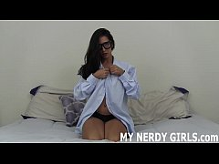 Nerdy girls need sex too, you know JOI