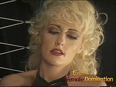 Sexy long haired slave meets the flogger for the first time-6