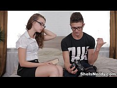 She Is Nerdy - Nerdy xvideos photo-lover youpor...