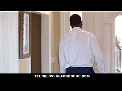 TeensLoveBlackCocks - Hot Secretary Fucked By BBC