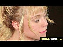 Naughty chick gives an amazing Japanese massage 5