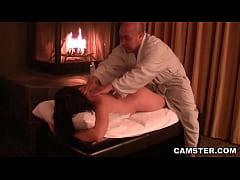 Asian hottie getting her tissues massaged