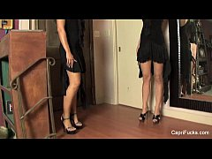 Horny Dress Up Friends With Capri Cavanni