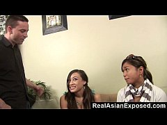 RealAsianExposed - Asian babysitter gives torrid sex to keep her job