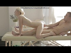 Kick-ass massage porn movie with a hot blonde s...