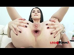 Crazy sexy Crystal Greenvelle 100% anal pleasure, gaping and DAP