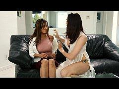 Reena Sky and Chanel Preston Amazing Lesbian Sex