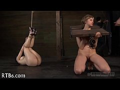 Upside down playgirl gives oral