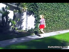 Free babysitter getting fucked video