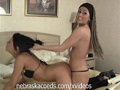 Wild Biker Girls Going at it Lesbian Style Part 2