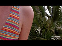 amateur french redhead slut ass nailed with cum to mouth outdoor