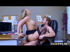 Kagney Linn Karter bouncing off her pussy on top