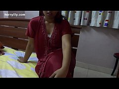indian babe lily crotchless panties