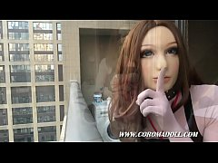 Doll In Public Nudity balcony Breath Play Turtl...
