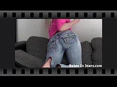 These little jean shorts make my Asian ass look...