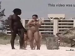 Interracial Public (Nude Beach)