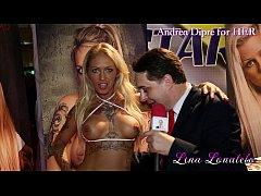 Lina Lonatelo gives a blowjob lesson for Andrea...