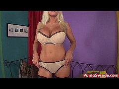 European Pornstar Puma Swede Masturbates with A...