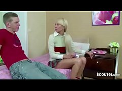 Bro Caught Petite Step-Sister with Pantys and F...