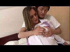 AMWF Tori Black interracial with Asian guy