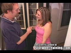 Hot Milf Tiffany Slut Wife Final Exam with Dirty D