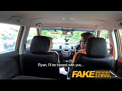 Fake Driving School Posh horny busty examiner s...