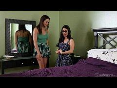 Lesbian Fingerfuck - Serena Blair and Ashley Adams