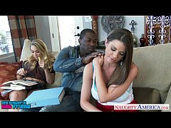 Naughty babes AJ Applegate and Brooklyn Chase l...