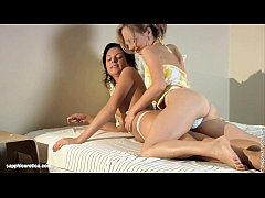 Dorm Darlings - sensual lesbian love porn by Sa...