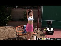 Brazzers - Big Tits In Sports - Playing with my...