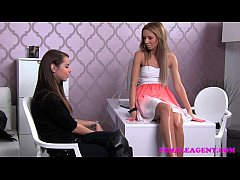 FemaleAgent First lesbian experience for shy go...
