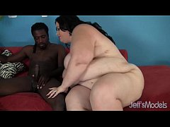 Black-haired Desiree Devine's huge body is fuck...