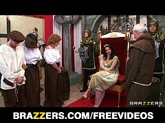 The queen gets caught cheating and is punished ...