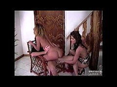 Holly Black and Monica, Horny Girls for a Three...