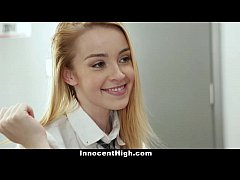 InnocentHigh - Coed Alexia Gold Gets Drilled