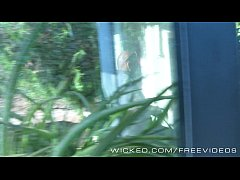 Wicked - Samantha Rone gets caught on hidden ca...
