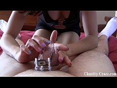 Your dick needs to be locked up in chastity