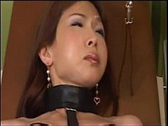 Asian suffers in painful BDSM