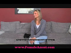 femaleagent bisexual blonde beauty