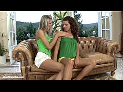 Lovemaking the lesbian way with Brandy and Domi...