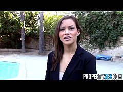 PropertySex - Sexy real estate agents fucks cas...