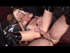 Spicy blonde banged in the ass by rocker that l...