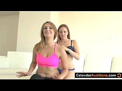 Lesbian Seduces Yoga Instructor At Audition