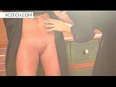 bizzare porn with catholic nuns