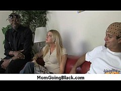 Busty Mom Fucks and Sucks a Huge Black Monster ...