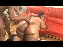 Ebony With a Big Fat Ass Gets Fucked