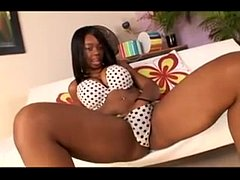 Busty Ebony fuck