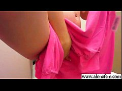 (linda lay) Gorgeous Alone Girl Play With Sex T...